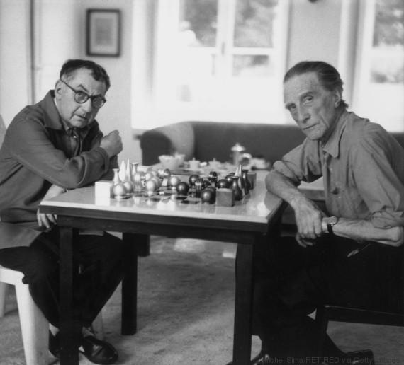 man ray chess