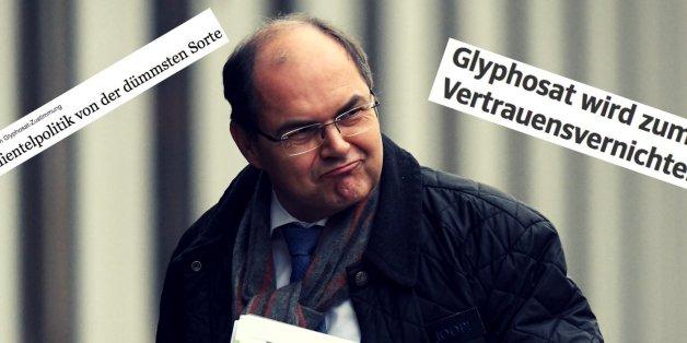 """""""Dumm, dreist und peinlich"""": So kommentiert die Presse das Glyphosat-Votum"""