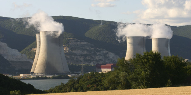 Nuclear energy, CruasMeysse nuclear power plant near Montélimar, France. (Photo by: BSIP/UIG via Getty Images)