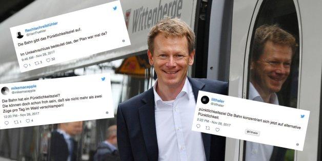 Bahn gibt Pünktlichkeitsziel auf – So kommentieren Twitter-Nutzer die Nachricht