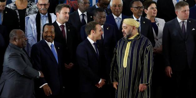 Conjointement à l'UE, l'UA et l'ONU, l'Allemagne, l'Italie, l'Espagne, la France, le Tchad, le Niger, la Libye, le Maroc et le Congo scellent un accord international pour l'évacuation d'urgence des migrants en Libye. REUTERS/Luc Gnago