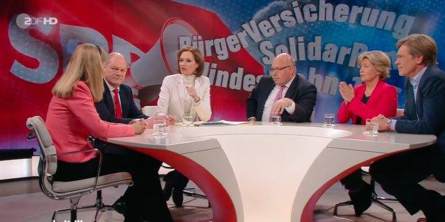 """""""Schulz hat fertig"""": Gäste bei """"Illner"""" nehmen SPD-Chef in die Mangel - ausgerechnet CDU-Mann Altmaier verteidigt ihn"""