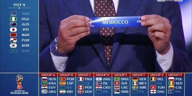 Coupe du monde 2018 le maroc dans le groupe de la mort - Photo de la coupe du monde ...