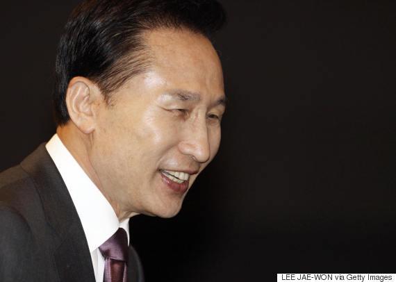 lee myung bak smile