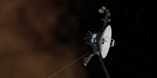 This undated artist's concept depicts NASA's Voyager 1 spacecraft entering interstellar space, or the space between stars. NASA's Voyager 1 spacecraft is officially the first human-made object to venture into interstellar space, according to a NASA statement. The 36-year-old probe is about 12 billion miles (19 billion kilometres) from our sun. REUTERS/NASA/JPL-Caltech/Handout  (UNITED STATES - Tags: SCIENCE TECHNOLOGY)THIS IMAGE HAS BEEN SUPPLIED BY A THIRD PARTY. IT IS DISTRIBUTED, EXACTLY AS R