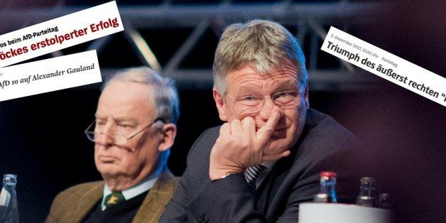 """""""Zerstritten und ohne Führung"""": So kommentieren die Medien das Wahl-Chaos auf dem AfD-Parteitag"""