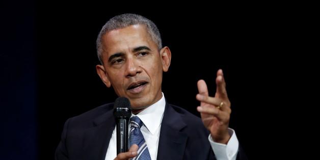 """Barack Obama sagt, Frauen sollten die Welt regieren, weil """"Männer einige Probleme haben"""""""
