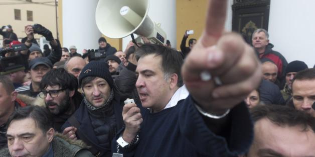 Der Oppositionspolitiker Michail Saakaschwili