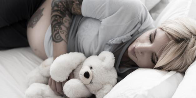 Während der Schwangerschaft haben viele Frauen intensive, angsteinflößende Träume.