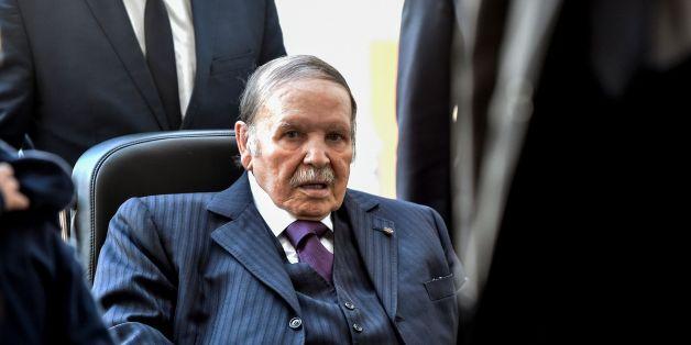 Abdelaziz Bouteflika le 23 novembre 2017