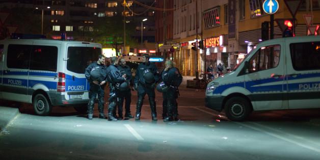 Massen-Randale haben die Polizisten in Essen gefordert.