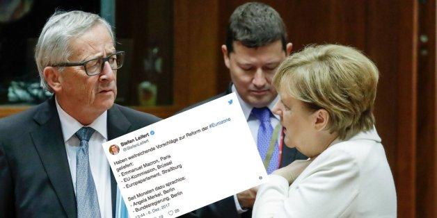 Tweet bringt es auf den Punkt: Während andere die EU neugestalten, verschläft Deutschland seine Chance