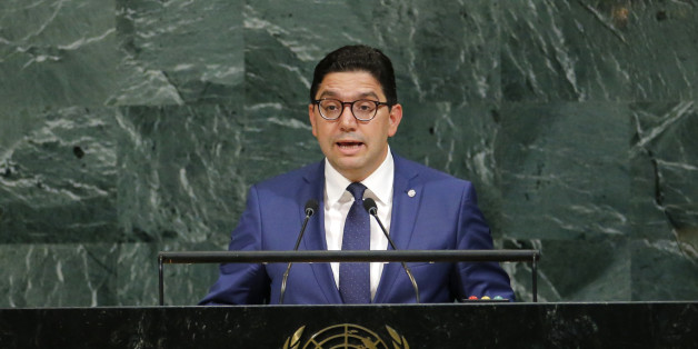 Moroccan Foreign Minister Nasser Bourita addresses the 72nd United Nations General Assembly at U.N. headquarters in New York, U.S., September 20, 2017. REUTERS/Eduardo Munoz