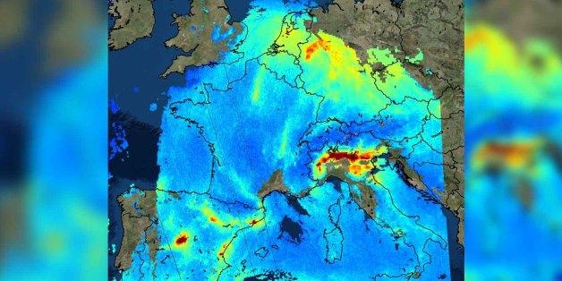 Luftverschmutzung: Eine deutsche Region gehört zu den dreckigsten Europas