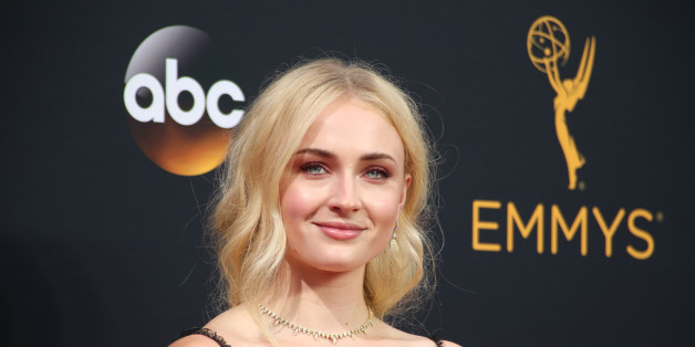 """Actress Sophie Turner from the HBO series """"Game of Thrones"""" arrives at the 68th Primetime Emmy Awards in Los Angeles, California U.S., September 18, 2016.  REUTERS/Lucy Nicholson"""