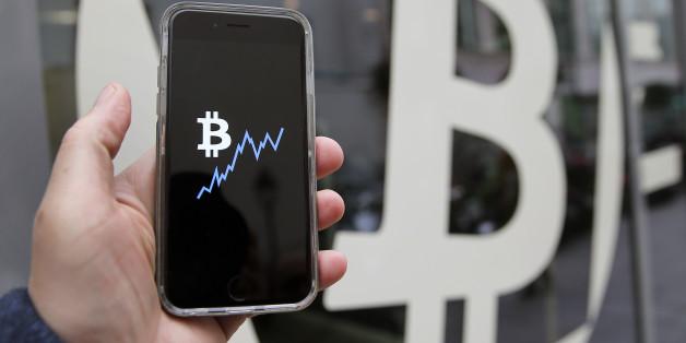 Der Kurs der Bitcoins steigt rasant