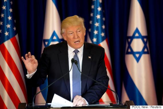 trump israel netanyahu