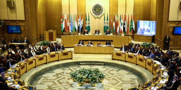 CAIRO, EGYPT - DECEMBER 9: General view of Arab League foreign ministers emergency meeting in the Egyptian capital Cairo on December 9, 2017.  The meeting is held to discuss repercussions of the U.S. decision to officially recognize Jerusalem as Israels capital.  (Photo by Stringer/Anadolu Agency/Getty Images)