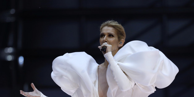 "2017 Billboard Music Awards – Show - Las Vegas, Nevada, U.S., 21/05/2017 - Celine Dion performs ""My Heart Will Go On."" REUTERS/Mario Anzuoni"