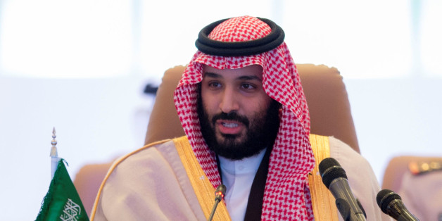 Saudi Crown Prince Mohammed bin Salman speaks during the meeting of Islamic Military Counter Terrorism Coalition defence ministers in Riyadh, Saudi Arabia November 26, 2017. Bandar Algaloud/Courtesy of Saudi Royal Court/Handout via REUTERS ATTENTION EDITORS - THIS PICTURE WAS PROVIDED BY A THIRD PARTY.