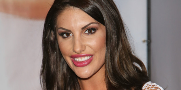 LAS VEGAS, NV - JANUARY 18:  Adult film actress August Ames appears at the Twistys booth during the 2017 AVN Adult Entertainment Expo at the Hard Rock Hotel & Casino on January 18, 2017 in Las Vegas, Nevada.  (Photo by Gabe Ginsberg/FilmMagic)