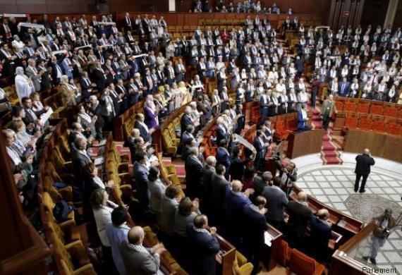 parlement maroc