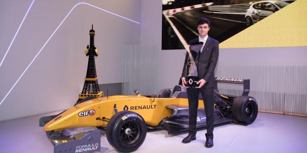 Le jeune pilote Michael Benyahia sacré champion d'Europe du nord de Formule Renault 2017