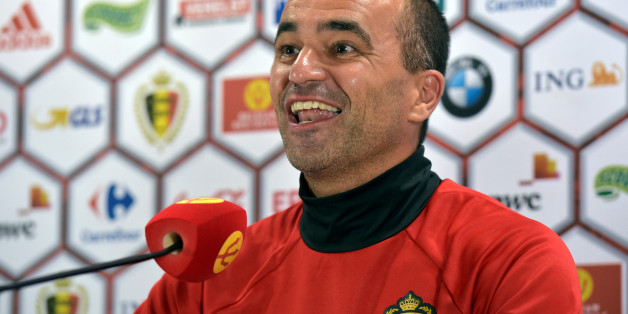 L'entraîneur de l'équipe de football belge, Roberto Martinez.