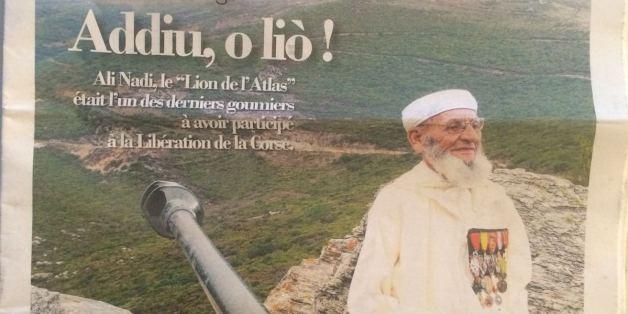 Goumier marocain: Il n'y aura pas de rue Ali Nodi à Bastia en Corse