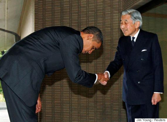 obama emperor of japan