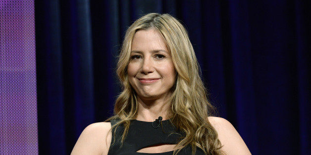 "Cast member Mira Sorvino of new drama series ""Intruders"" participates in a panel during the BBC America portion of the 2014 Television Critics Association Cable Summer Press Tour in Beverly Hills, California July 9, 2014. REUTERS/Kevork Djansezian (UNITED STATES - Tags: ENTERTAINMENT)"