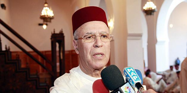 Ahmed Toufiq, ministre des Habous et des Affaires islamiques.