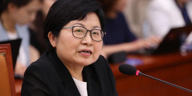 정현백 여성가족부 장관.