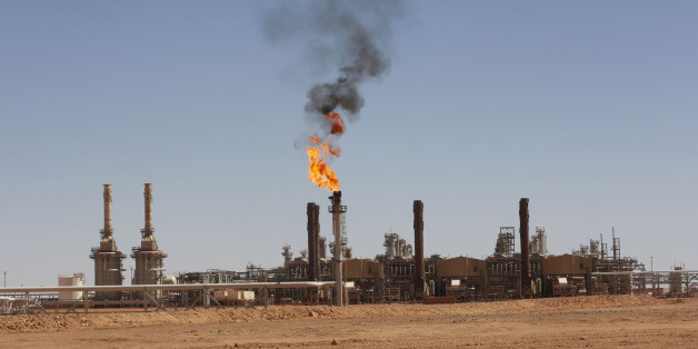 A general view of Tiguentourine Gas Plant in In Amenas, 1600 km (994 miles) southeast of Algiers, October 2, 2013. REUTERS/Louafi Larbi (ALGERIA - Tags: ENERGY BUSINESS)
