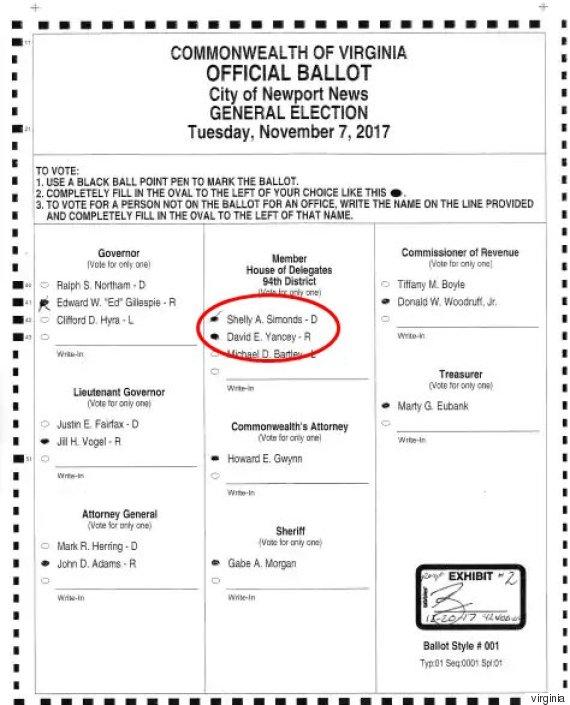 ballot virginia
