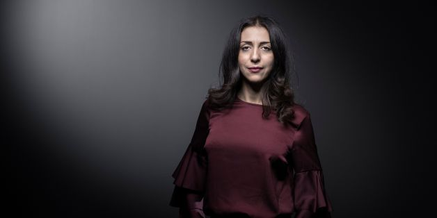 French writer and feminist activist Henda Ayari, poses during a photo session in Paris, on November 24, 2017.Muslim feminist activist Henda Ayari, told Le Parisien newspaper that she was raped violently by Islamic scholar Tariq Ramadan.  / AFP PHOTO / JOEL SAGET        (Photo credit should read JOEL SAGET/AFP/Getty Images)
