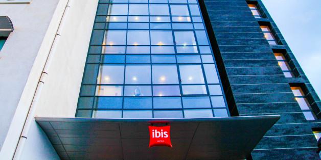 Vue de l'Hôtel Ibis à Oran, le 19 décembre 2017