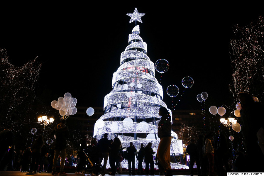 christmas tree athens 2017