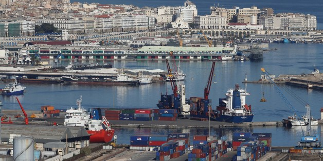 Algiers Port, General View of Algiers on November 24, 2017 Algerian voters are choosing new local leaders in an election marked by the frustration of growing poverty caused by low oil prices. More than 50 political parties present candidates in Thursday's elections for mayors and council members in 1,541 cities and 48 local assemblies (Photo by Billal Bensalem/NurPhoto via Getty Images)