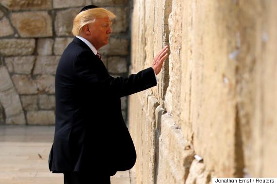 trump western wall