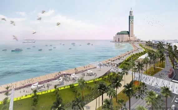 promenade mosquee hassan ii casablanca 2