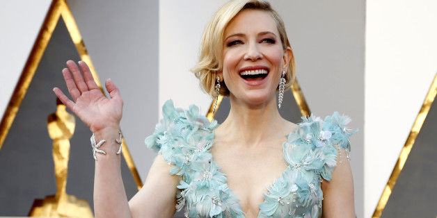 "Cate Blanchett, nominated for Best Actress for her role in ""Carol,"" arrives at the 88th Academy Awards in Hollywood, California February 28, 2016.  REUTERS/Lucy Nicholson"