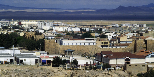 ALGERIA - MAY 05: View of Tebessa and the Byzantine walls, Algeria. (Photo by DeAgostini/Getty Images)
