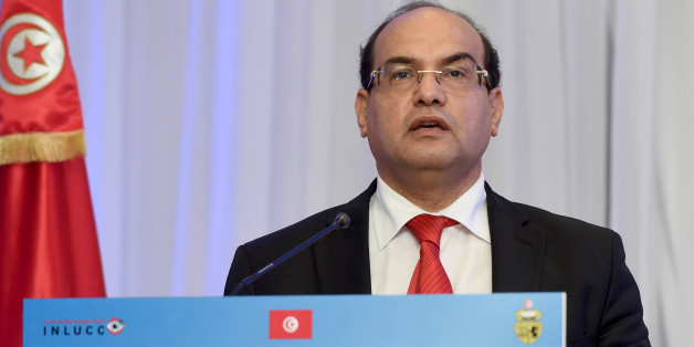 Chawki Tabib, president of the National Authority for Combating Corruption, speaks during the opening of the National Conference to Combat Corruption, on December 8, 2016, in Tunis. / AFP / FETHI BELAID        (Photo credit should read FETHI BELAID/AFP/Getty Images)