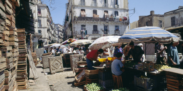 ALGERIA - MAY 11: Fruit and vegetable stall, Algiers, Algeria. (Photo by DeAgostini/Getty Images)