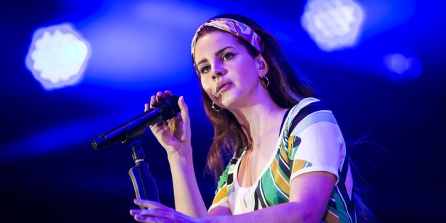 Lana Del Rey performs during BBC Radio 1's Big Weekend at Burton Constable Hall, Burton Constable, Skirlaugh in Hull. (Photo by Danny Lawson/PA Images via Getty Images)