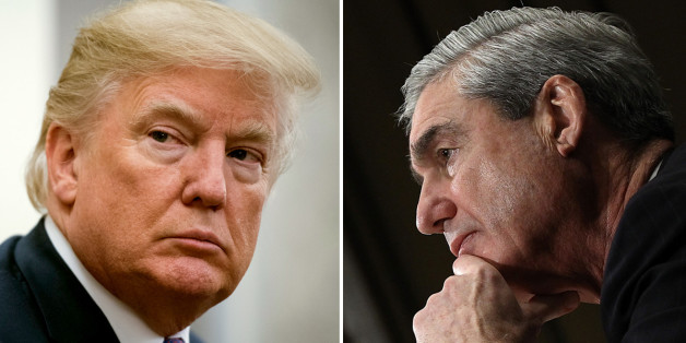 President  Trump and special counsel Robert S. Mueller III. (Photo by Jabin Botsford/The Washington Post via Getty Images; Win McNamee/Getty Images)