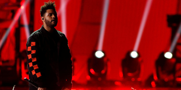 The Weeknd performs during the iHeartRadio Music Festival at T-Mobile Arena in Las Vegas, Nevada U.S. September 22, 2017. REUTERS/Steve Marcus