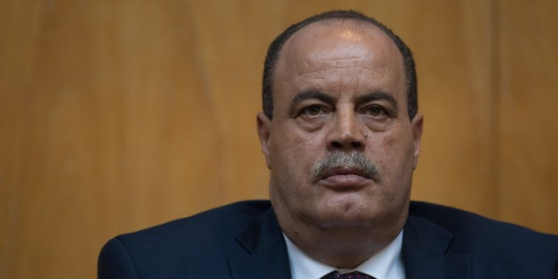 SOUSSE, TUNISIA - JUNE 29: Tunisian Interior Minister Mohamed Najem Gharsalli speaks during a press conference in the Riu Imperial Marhaba Hotel  where 39 people were killed in a beach attack last Friday, on June 29, Sousse, Tunisia. (Photo by Amine Landoulsi/Anadolu Agency/Getty Images)