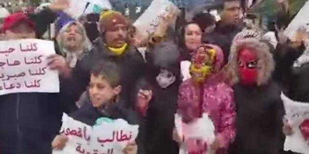 Manifestation à Fès suite à l'arrestation d'un français soupçonné de pédophilie